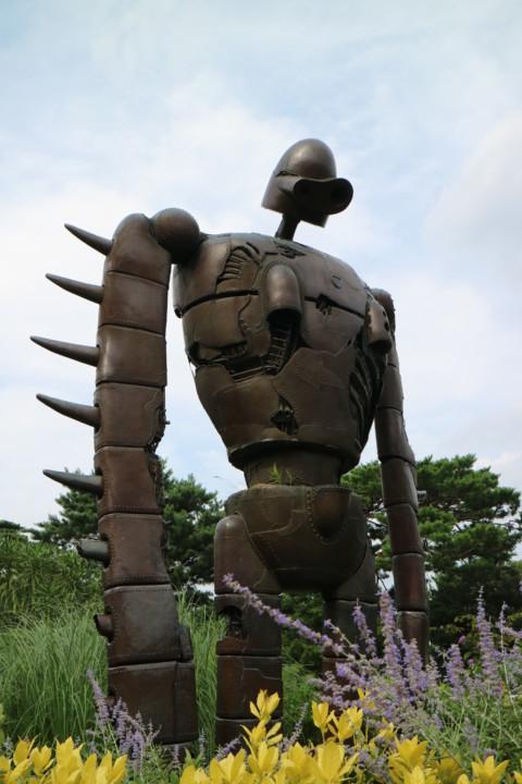 ラピュタ ロボット兵 うつむき