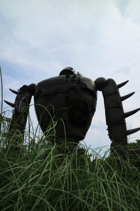 ラピュタ ロボット兵 哀愁漂う背中