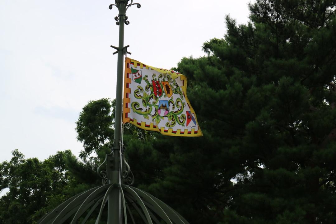 ジブリ美術館の旗