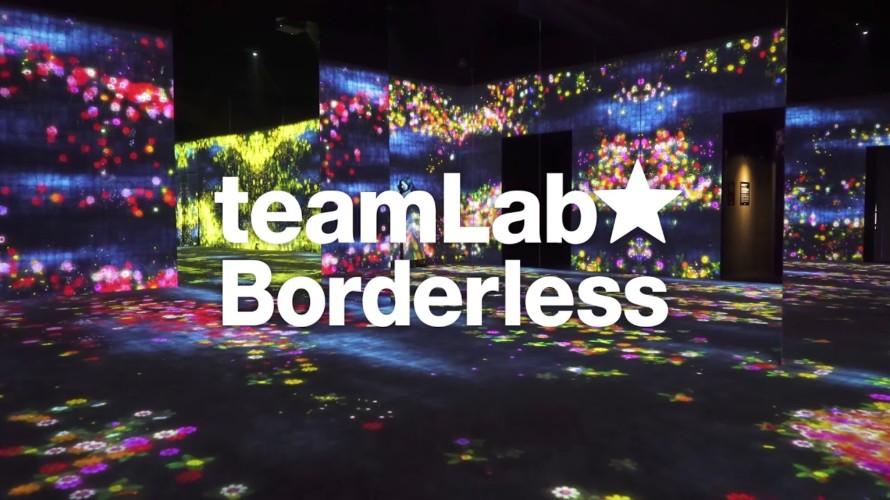 【レビュー】『チームラボ ボーダレス』に変態が行ってきた感想をまとめてみた。