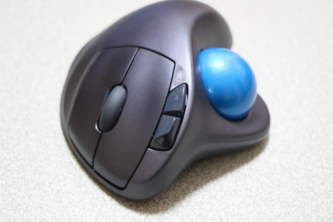 ロジクール トラックボールマウスM570t 拡張ボタン