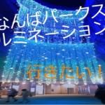 2018年冬に大阪なんばパークスのイルミネーションに行きたいって話